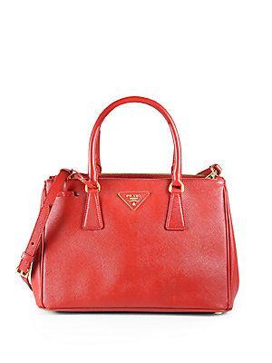 replica mens prada bags - Prada Saffiano Lux Small Tote Bag $1730 Available in 5 different ...