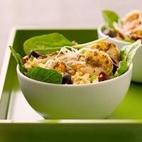 BHG's Newest Recipes:Couscous 'N' Garlic Shrimp Recipe