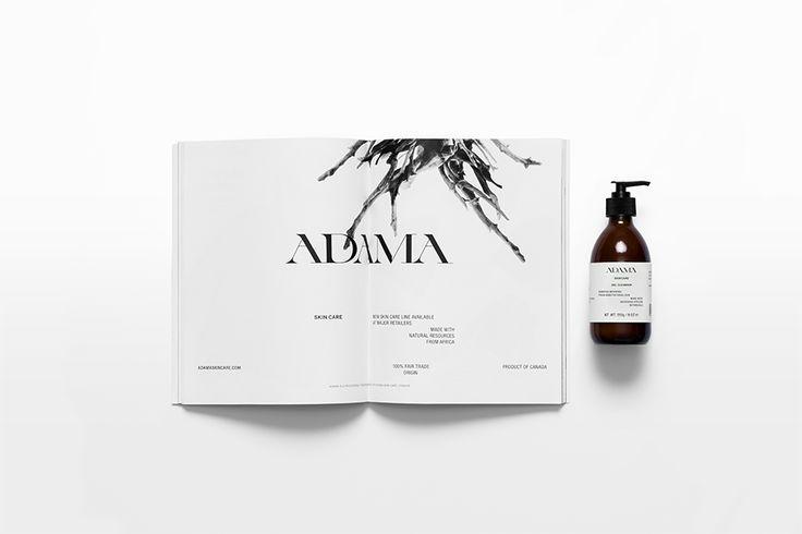 Adama. Press publication. Design by www.anagrama.com