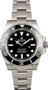 Rolex Submariner No Date 114060 by Bob's Watches, https://www.bobswatches.com/rolex-submariner-no-date-114060.html