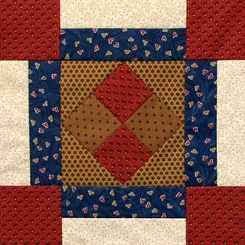 Women's Voices Block of the Month Quilt- block 16                                                                                                                                                      More
