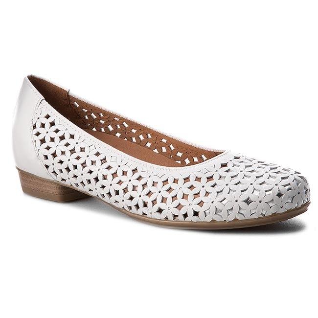 Pantofi ARA - 12-33116-08 Weiss/Silber