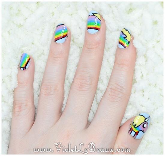 Adventure Time nail art   nails   Pinterest