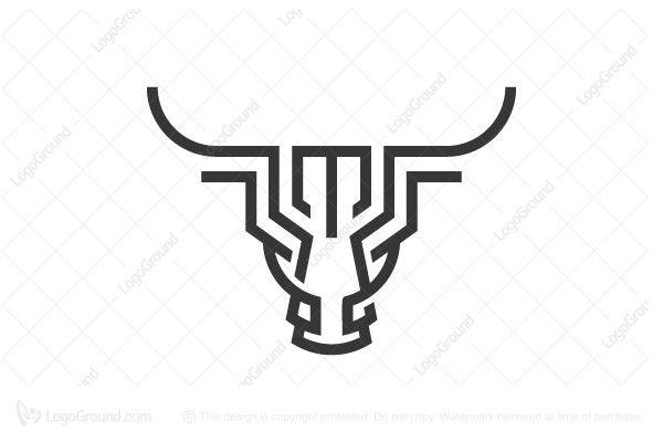 Logo for sale: Bull Logo