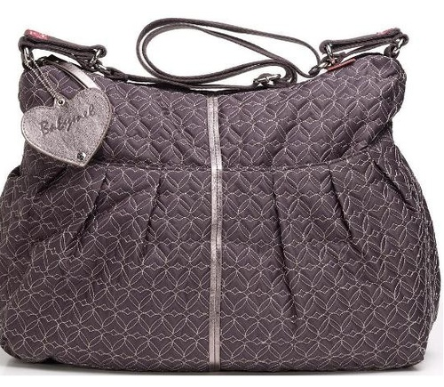 Babymel Amanda - Quilted Pewter. Also available in Quilted Black, Black and Jungle Floral. $139 and available on www.dollface.com.au