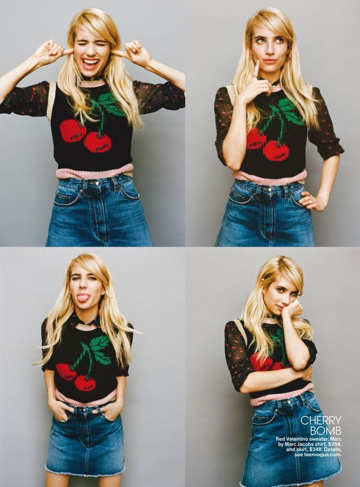 Emma Roberts for Teen Vogue November 2015