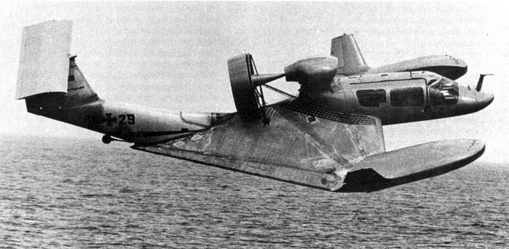 Bassmen: Rhein-Flugzeugbau GmbH X-114 'Airfoilboat' | The X-114 protototype, or 'Airfoilboat' as it was known, was a German aircraft which was developed by Rhein-Flugzeugbau GmbH (RFG), an affiliate of the aircraft manufacturer Fokker. The X-114 Airfoilboat was designed by Dr Alexander Lippisch, an early pioneer in the field of aerodynamics. One of his previous creations included a delta-wing aircraft developed in the early '30s which led to the rocket-powered Messerschmitt Me 163.