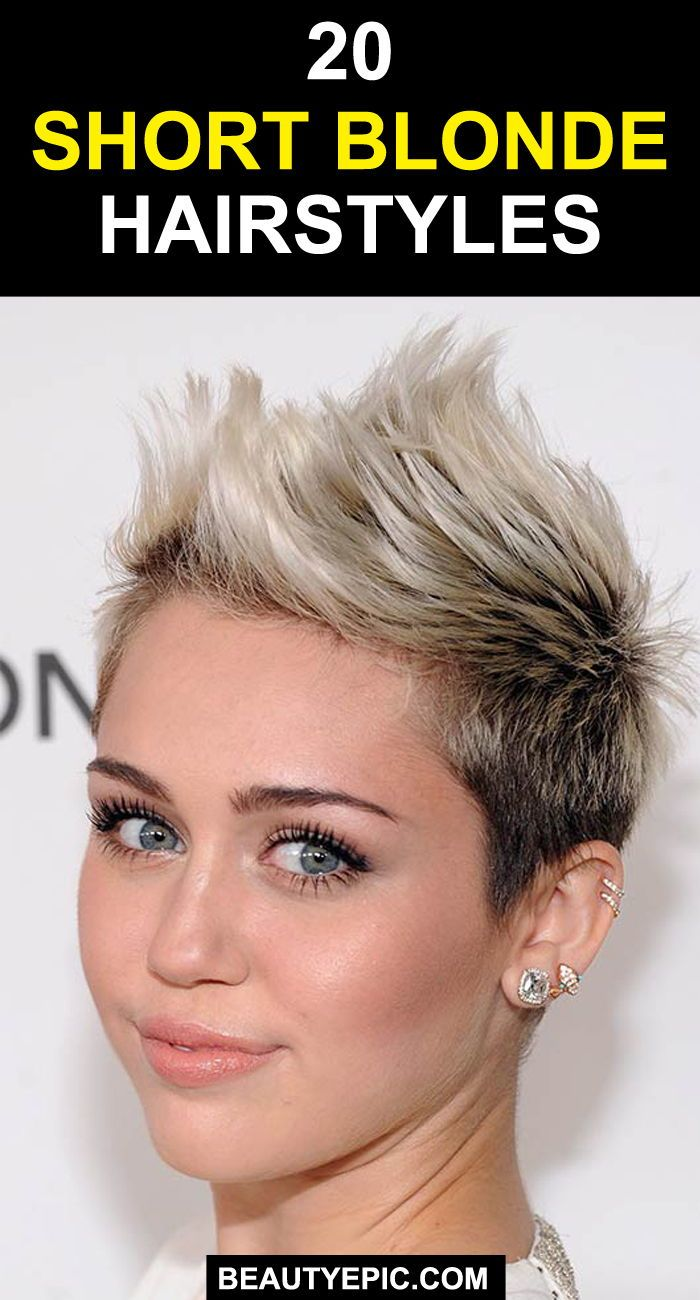 gorgeous short blonde haircuts and hairstyles to inspire you