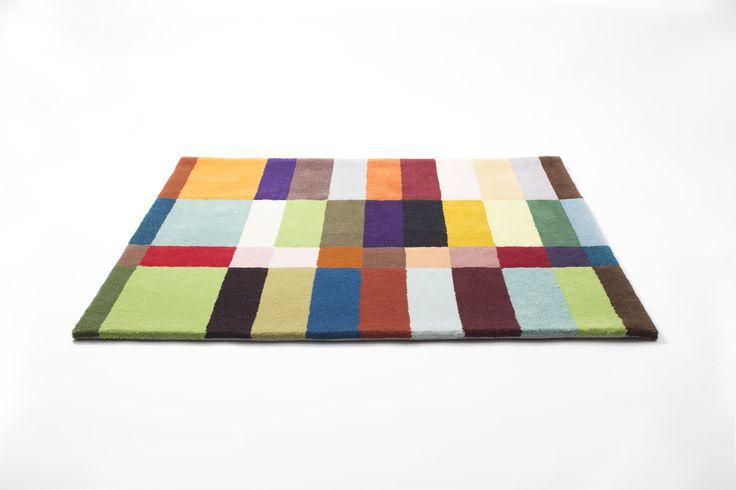 Kuki-carpet, tuft,100% wool, 2014. Size free. Design Annukka Mikkola. Photo Olli Keskinen.