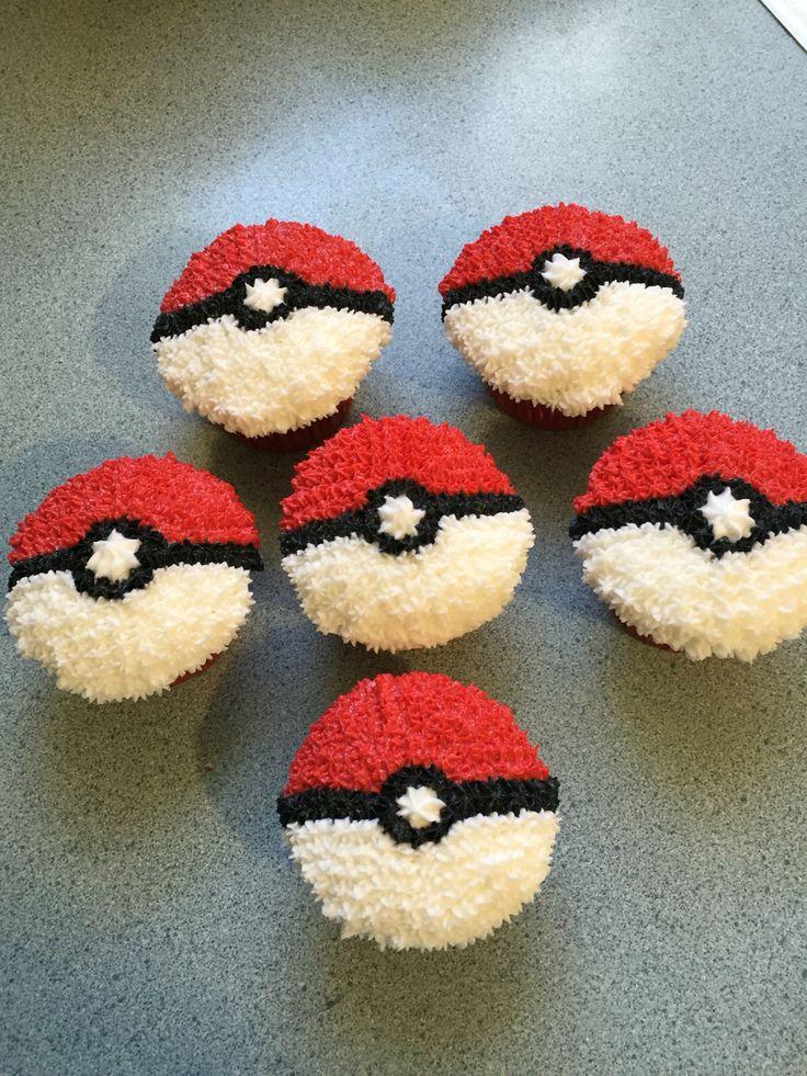 Pokemon Cupcakes                                                                                                                                                                                 Más                                                                                                                                                                                 More
