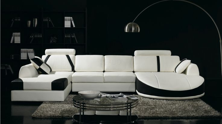 Messina Leather Chaise Lounge Option A - Lounge Life