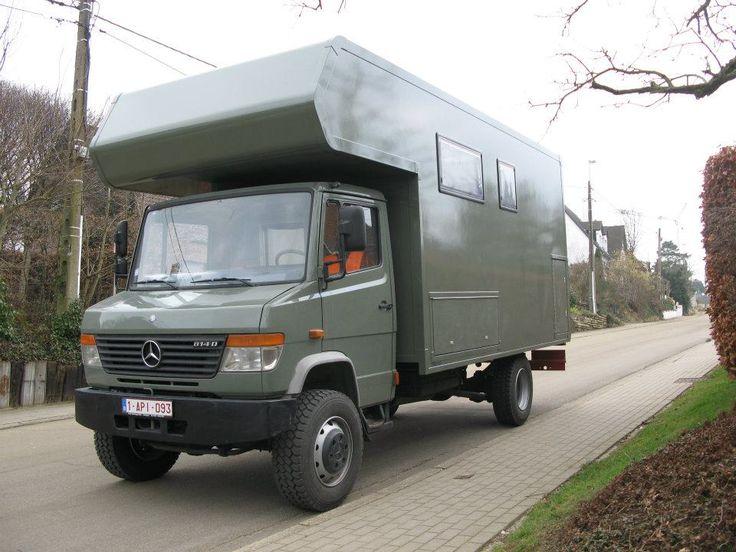 mercedes vario 814 4x4 camper expedition portal motorhome pinterest 4x4. Black Bedroom Furniture Sets. Home Design Ideas
