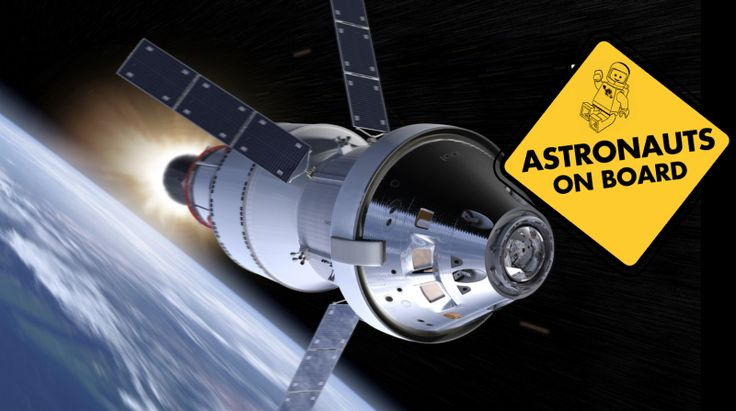 NASA is considering launching a living, human crew on the first integrated flight of the new Space Launch System (SLS) and Orion spacecraft currently scheduled for late 2018. While most of NASA's crewed spacecraft have had their initial launches unmanned or with (adorable) non-human animals, this is not unheard of, as the Space Shuttle Colombia launched with a crew of two for its maiden flight in 1981.