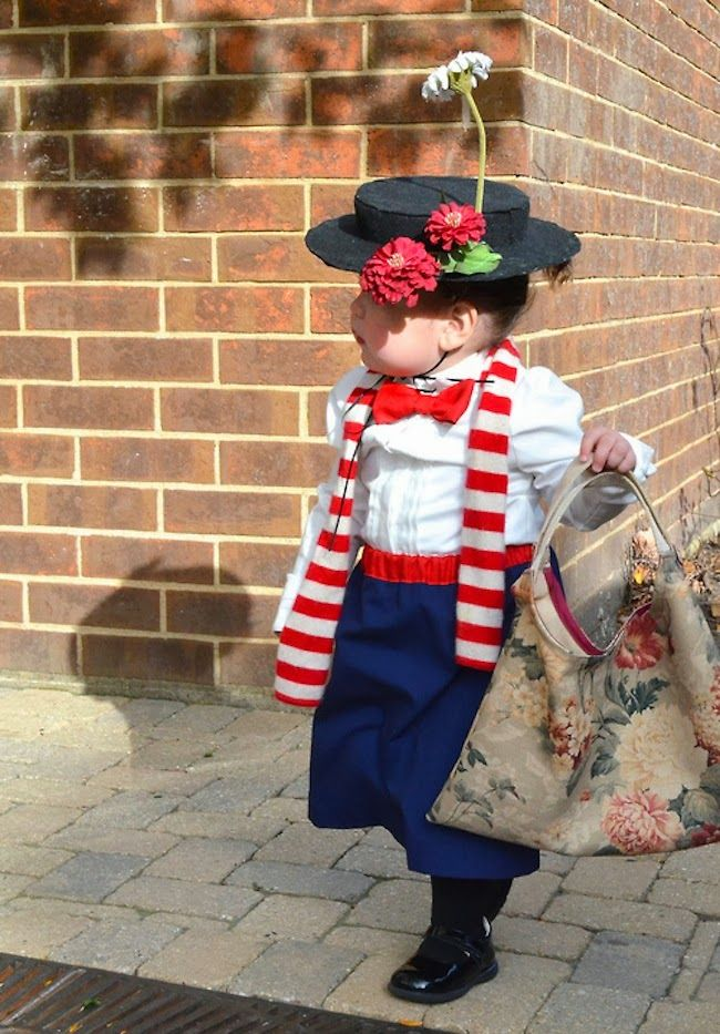 baby mary poppins A Lovely Lark: Even More DIY Halloween Costume Ideas