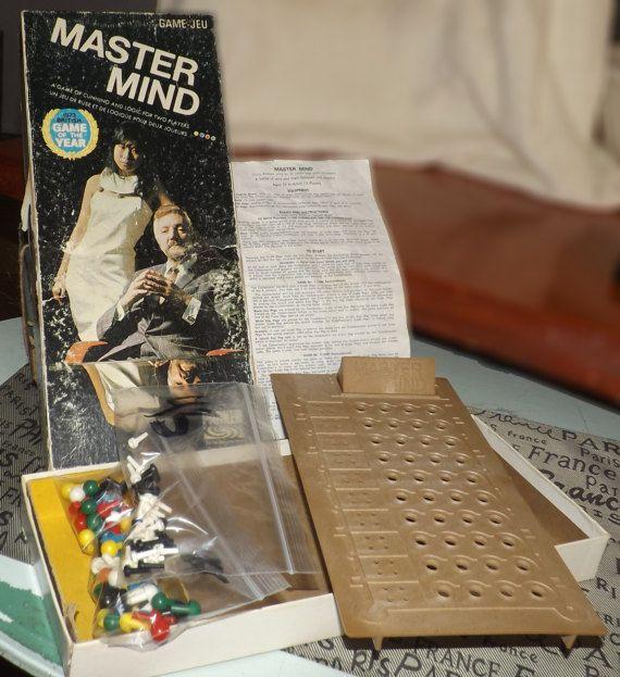 Vintage c.1974 Parker Brothers Mastermind Board by BuyfromGroovy