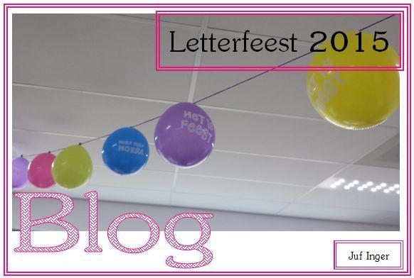 Letterfeest 2015 - juf Inger