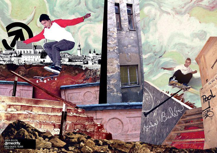 """Meatfly skaters Promo: Jirka Bulín"" by yVANs"