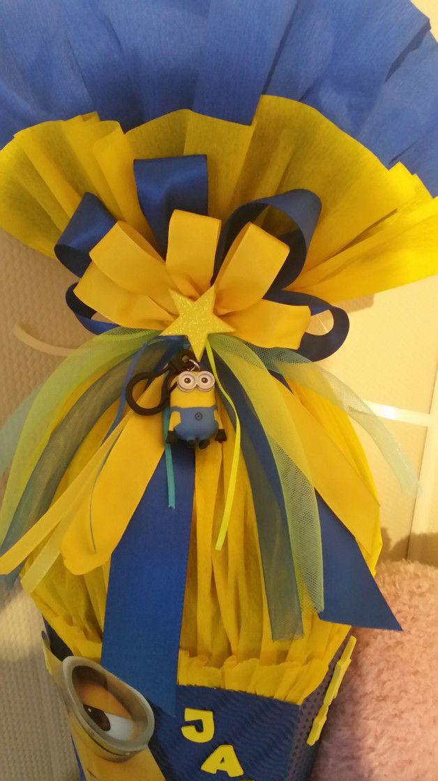 The 18 best Minion Schultüte images on Pinterest | Back to school ...