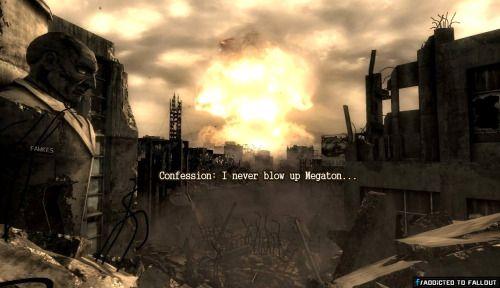 Do you? #Fallout #Megaton  fallout fallout 3 megaton fallout megaton twitter