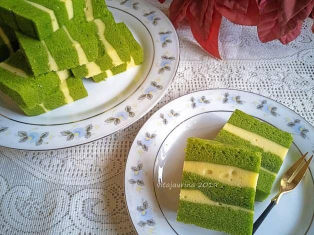Resep Green Tea Cheese Steamed Cake Oleh Vita Jaurina Resep Makanan Kue Resep