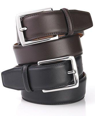 Brown Ralph Lauren Men's, Leather Dress Belt - Mens Belts, Wallets & Accessories - Macy's