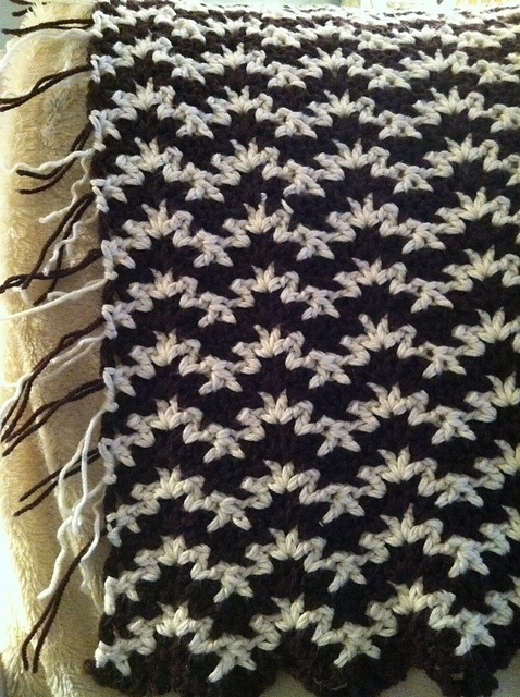 Ravelry: Project Gallery for Vintage Crocheted Blanket pattern by Churchmouse Yarns and Teas