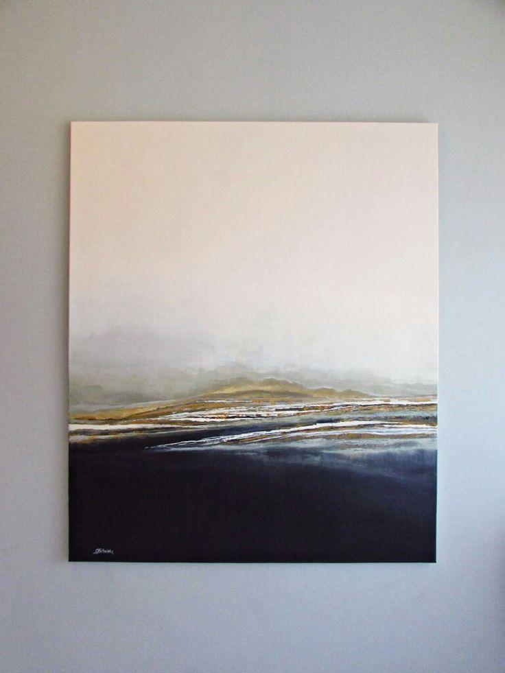 Pejzaż w ujęciu abstrakcyjnym, obrazy Sylwia Michalska