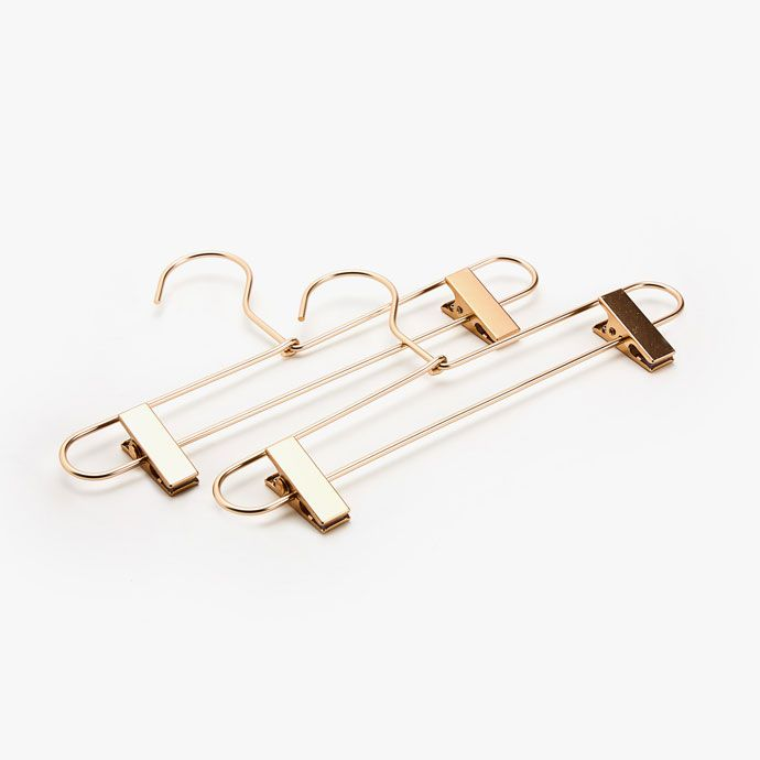 Image of the product METAL SKIRT HANGER (SET OF 2)