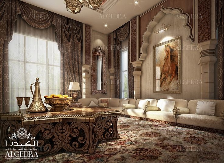 Arabic Majlis Interior Design Decoration Endearing Design Decoration