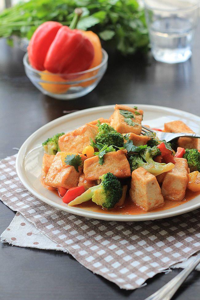 甜酸豆腐 Sweet & Sour Tofu