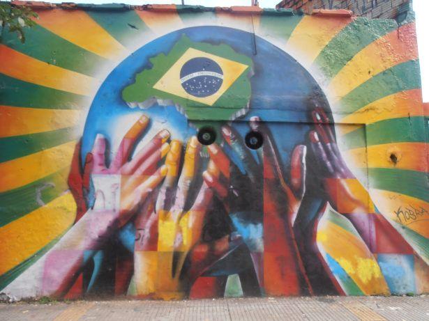 Street Art Sao Paulo, Brazil YUYAYGIFTS.COM