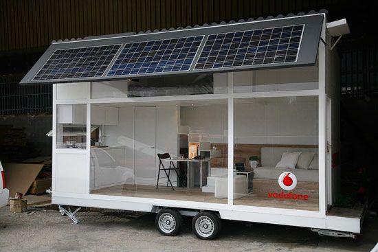 ノマドワーカー向け移動型モバイル住宅 | THINK FUTURE