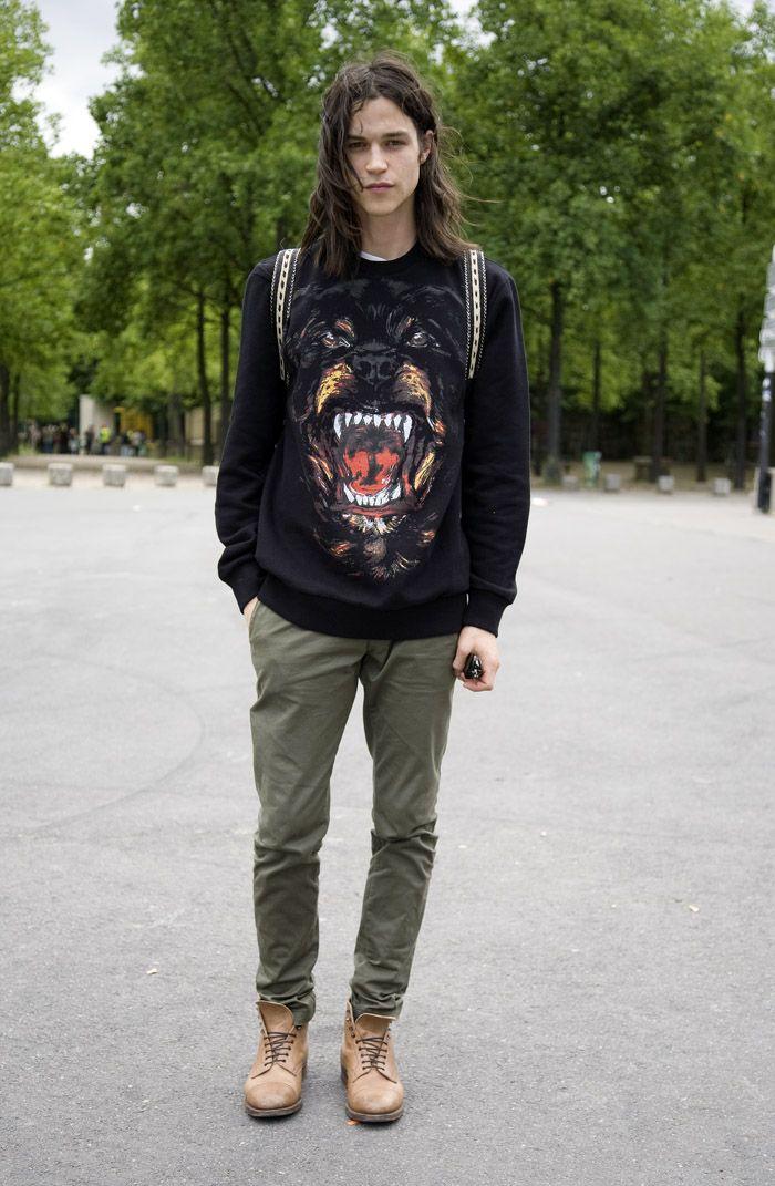Givenchy animal face print: Streetfashion, Rottweilers Sweatshirts, Paris Street Fashion, Street Style, Fashion Street, Men'S D, Givenchy Sweatshirts, Givenchy Rottweilers, Givenchy Sweaters