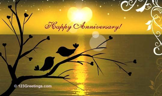 free+anniversary+cards+for+facebook | Anniversary card from my sweety