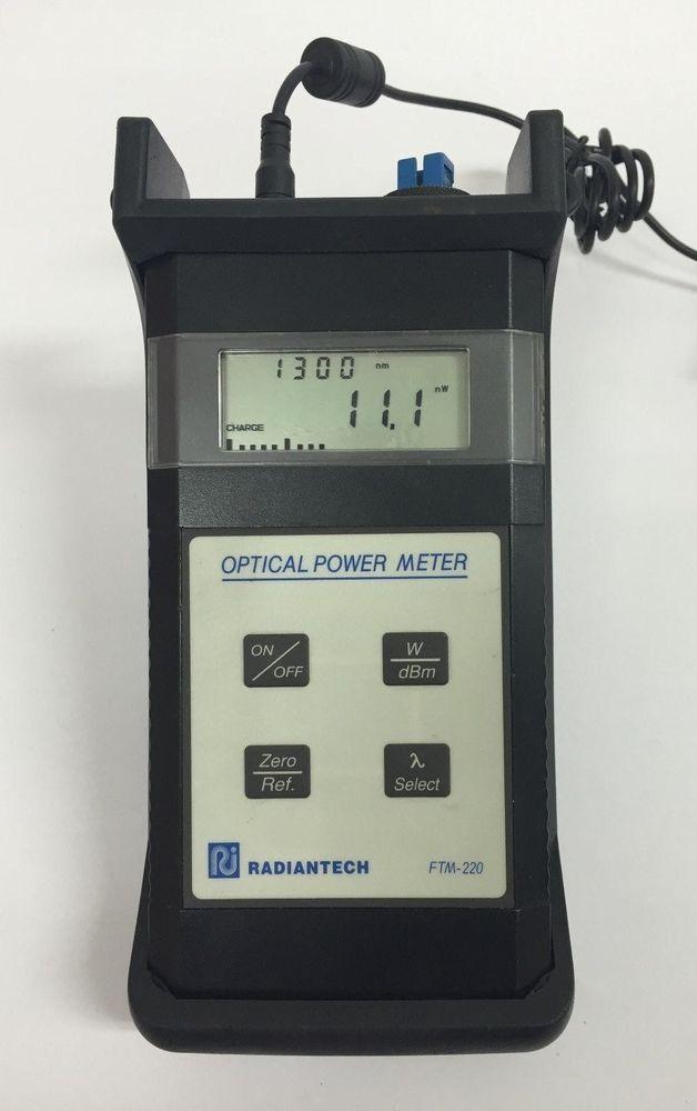 [Radiantech FTM-220] Optical Power Meter/ 630 nm to 1550 nm #Radiantech