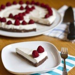 Nutella Kuchen mit Joghurt Sahne Creme