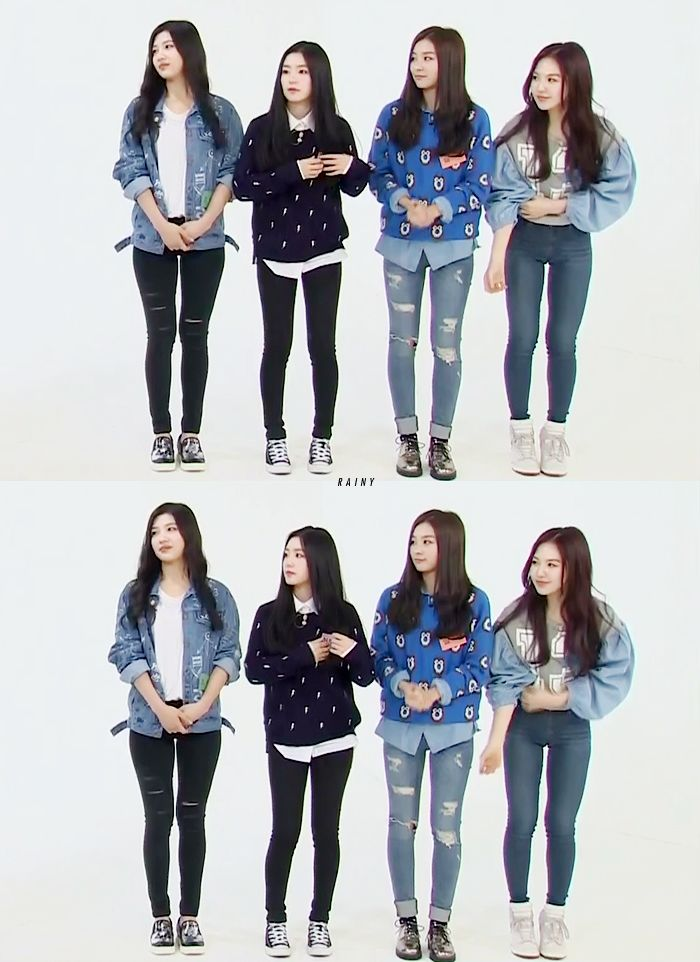 Red Velvet Joy, Irene, Seulgi & Wendy Kpop Fashion 141015 Weekly Idol 2014 | Recorded on 140923