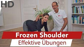 Schulterschmerzen Übungen zum Mitmachen // Schmerzen in der Schulter - YouTube