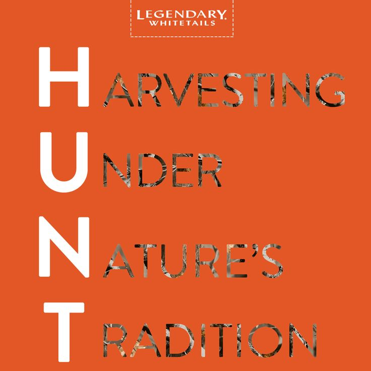 Do you know where your food comes from?? #CelebrateTheHunt