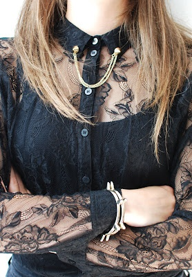 Melkstore Lookbook September - Jewelry ♥ The collar clip is H-O-T