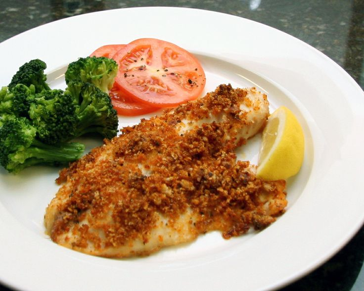 Baked Tilapia Recipe With Cajun Bread Crumb Topping