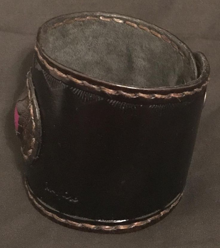 Leather Cuff by NarcissaCreates