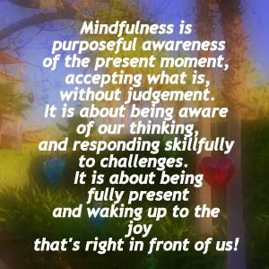 Curious about what #mindfulness actually means? Read this by @leftbrainbuddha