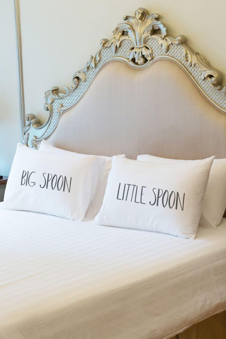 "20"" x 30"" Big Spoon Little Spoon Pillowcase - Set of 2"