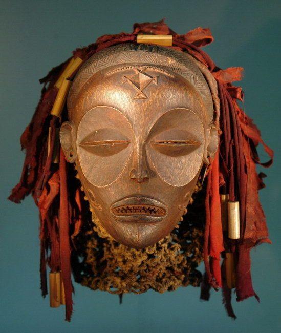 Makonde Mapiko - Lipiko Mask.