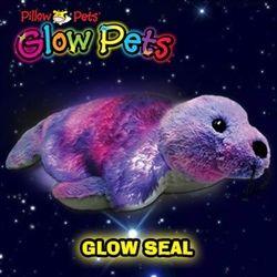 Alli Glow Pets Glow Seal Animal pillows