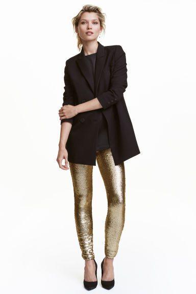 Sequined leggings | H&M