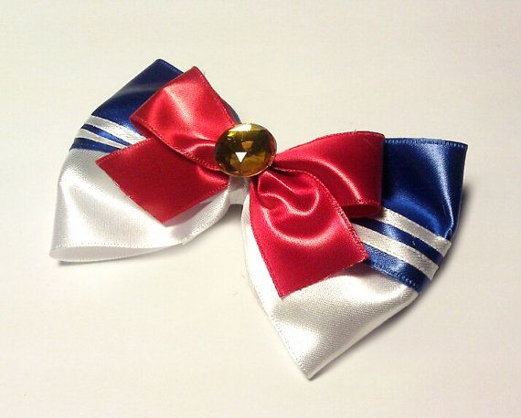 Hey, I found this really awesome Etsy listing at https://www.etsy.com/listing/182727999/sailor-moon-hair-bow