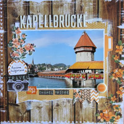 All About Scrapbooks - Kaisercraft Paradiso - by Fiona Johnstone