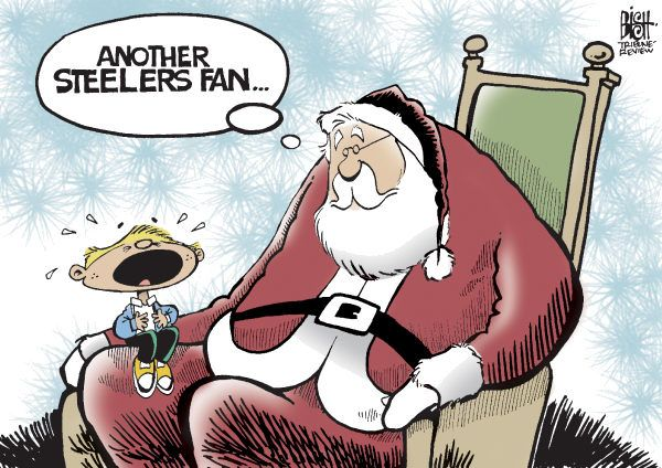 jokes about pittsburgh steelers | STEELERS, 2009, COLOR © Randy Bish,Pittsburgh Tribune-Review ...